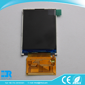 e-bike lcd display 2.4 inch tft lcd module with resistive touch screen 240*320 MCU