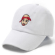 OEM manufacturers wholesale custom plain distressed private label white baseball cap