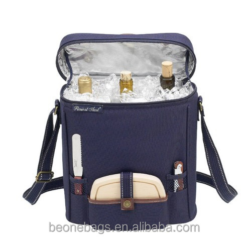 Picnic Insulated Ice Portable Wine Cooler Bag