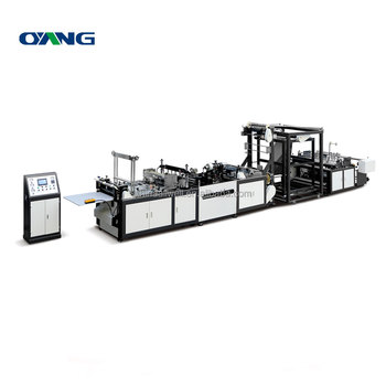 Fully automatic pp non-woven t-shirt bag making machine zhejiang