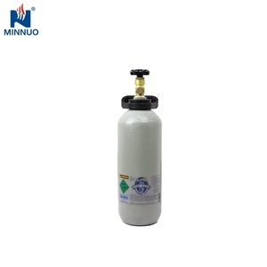 Refillable 4L oxygen gas cylinder for Medical use