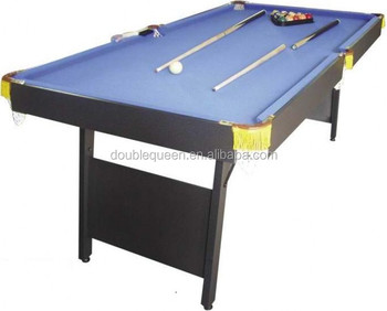 Stand Up Pool Table For Easy Foldable And Moveable