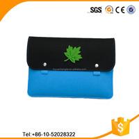 Ladies 17 inch felt laptop bag, felt laptop messenger bag and felt laptop case