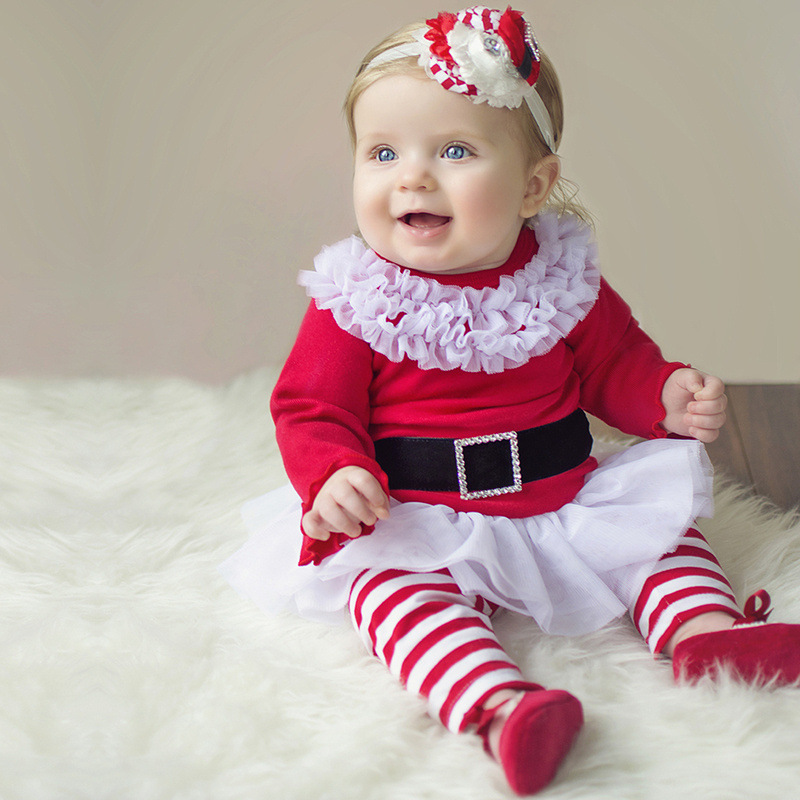 No one knows children's holiday clothes like Carter's. For years we've been the gift giving destination for Christmas pajamas, tees and a variety of other holiday kids clothes. Even Grandma agrees that Carter's Christmas dresses are still as party-perfect today as they were in years gone by.