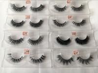 wholesale 100% real mink Natural Hair private label wholesale false eyelashes Custom eyelash packaging eyelashes