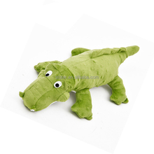 drop ship new design crocodile shaped stuffed plush dog toy
