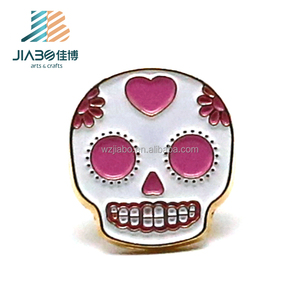 Jiabo custom head shape souvenir badge metal celebrate badge pin