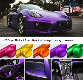 bubble free formulated 3m adhesives matte purple vehicle film vinyl wrap for interior and. Black Bedroom Furniture Sets. Home Design Ideas