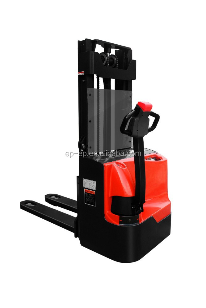 Double Lift ES10-12WAI 1.2 ton Electric Pallet Stacker