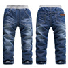 high quality cheap new fashion hot boys' denim jeans wholesale children jeans denim pants manufacturer