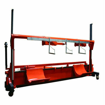 Motorized Twin Warp Beam Lift Trolley With Harness Frame (st-mbt-03 ...