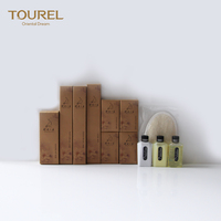 High end kraft box hotel amenities for luxury boutique hotels