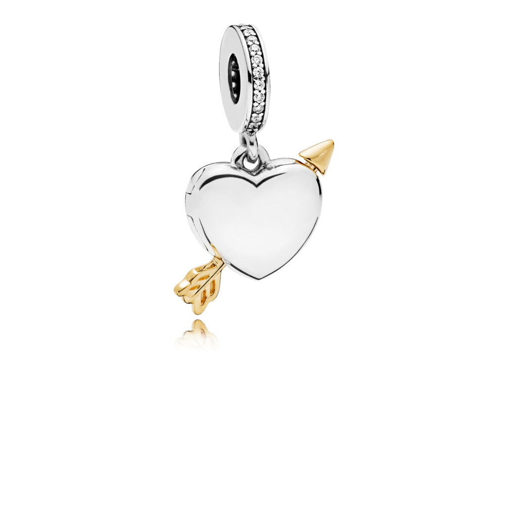 2019 High Quality Shine Arrow of Love Hanging <strong>Charm</strong> for Valentine's Day 925 Sterling Silver Love <strong>Charms</strong>