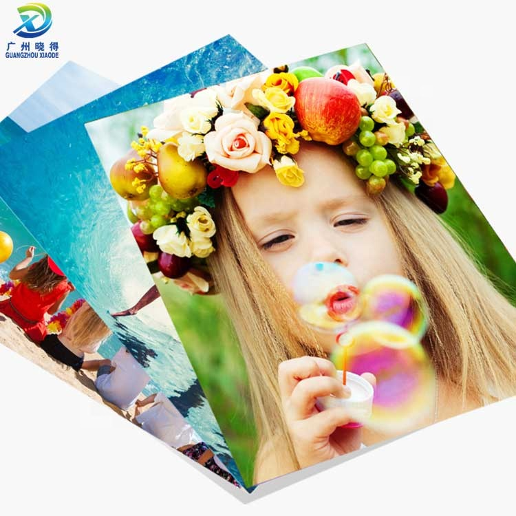 ขายส่งราคา eco - solvent 4x6 a4 matte glossy photo paper