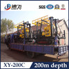 Fully Set of XY-200C Crawler Mounted Cheap Bore Well Drilling Machine Price