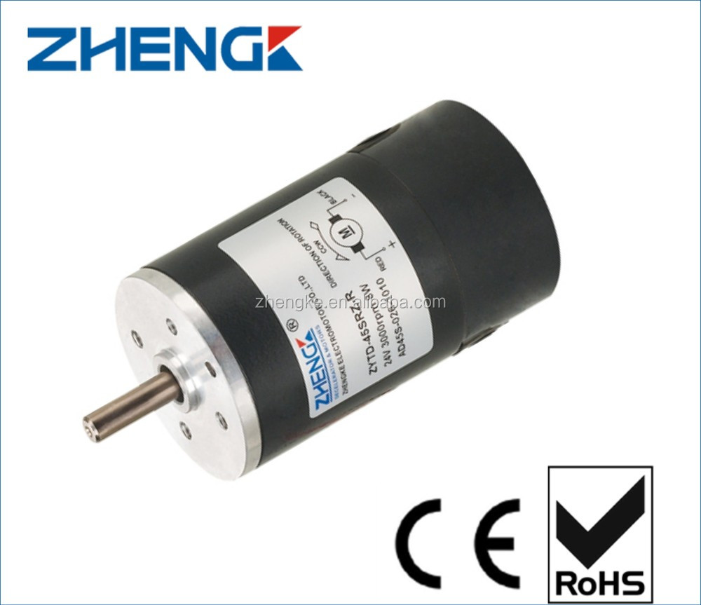 45mm 12v dc motor 3000rpm ZYTD-45SRZ, View 12v dc motor 3000rpm, ZHENGK  Product Details from Zhejiang Zhengke Electromotor Co , Ltd  on Alibaba com
