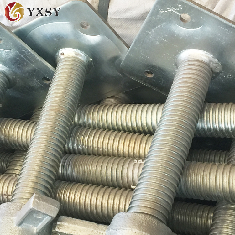 New Type Adjustable Scaffolding Threaded Base Plate/Jack Screw