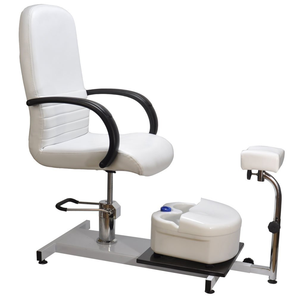 Buy Hydraulic PEDICURE Station Chair Salon SPA EQUIPMENT w/ Foot ...