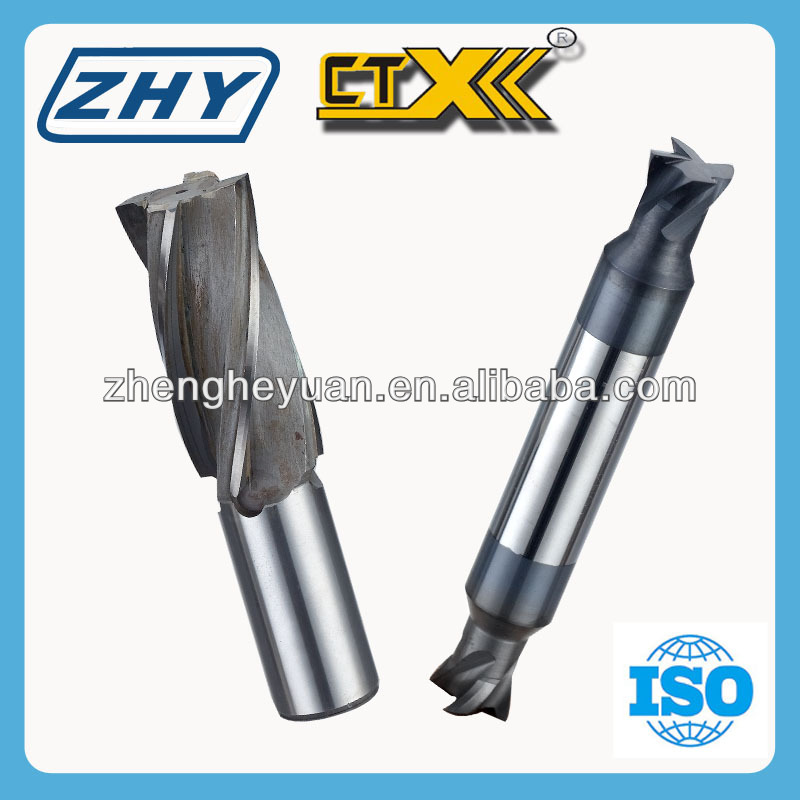 ZHY Tungsten Steel Carbide Welding End Mill / Dovetail Milling Cutter / Special Cutting Tool