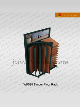 WF028 timber flooring stands rubber floor paint / page turning type rack