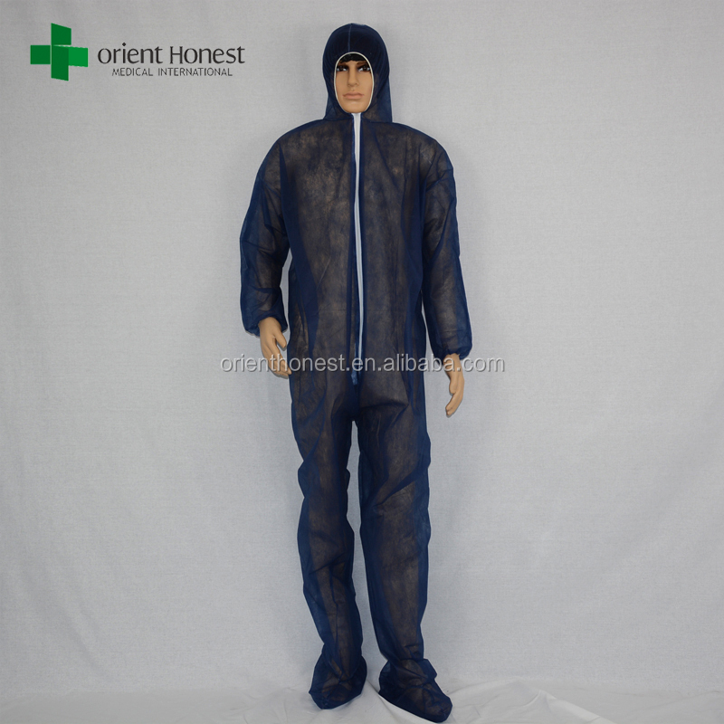 disposable non woven disposable body suit for industry protective