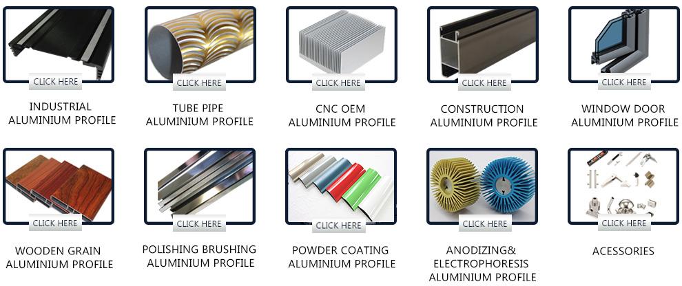 Goldene gebürstet aluminium profil, modische aluminium rand abdichtung abschnitt, elektrophorese goldenen eloxiertem aluminium