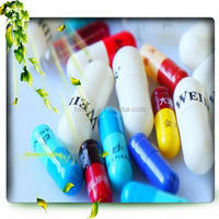 size 00.0.1.2.3.4.5 GMP Certified color wholesale Empty gelatin Capsules/hard gelatine empty capsule shell