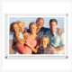 Plastic Acrylic Family Photo frame 3+3mm thickness Wall Mounted Acrylic Photo Picture Frame Clear Hanging poster holder
