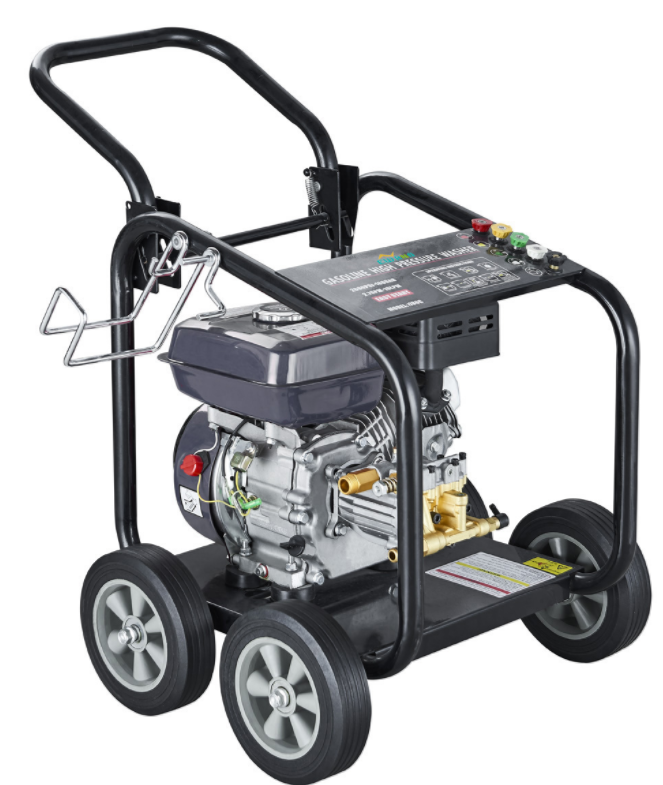 Mountain City 180bar 6.5HP Sederhana Model Bensin Power Jet High Pressure Cleaner