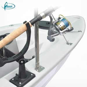 Professional plastic boat, row boats canoes, pedal fishing kayak
