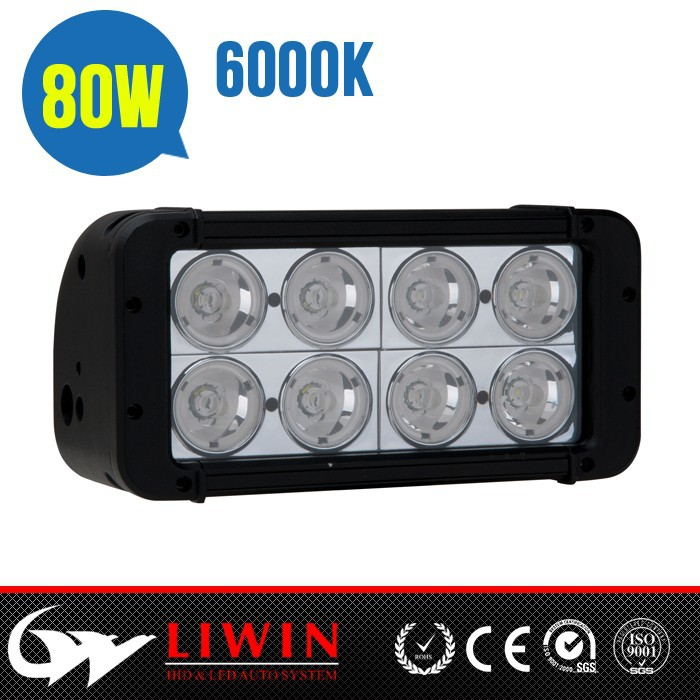 "LW China wholesale 7.8"" 80W piranha led light bar 4X4 Off road tractor for UTV ATV Boat"