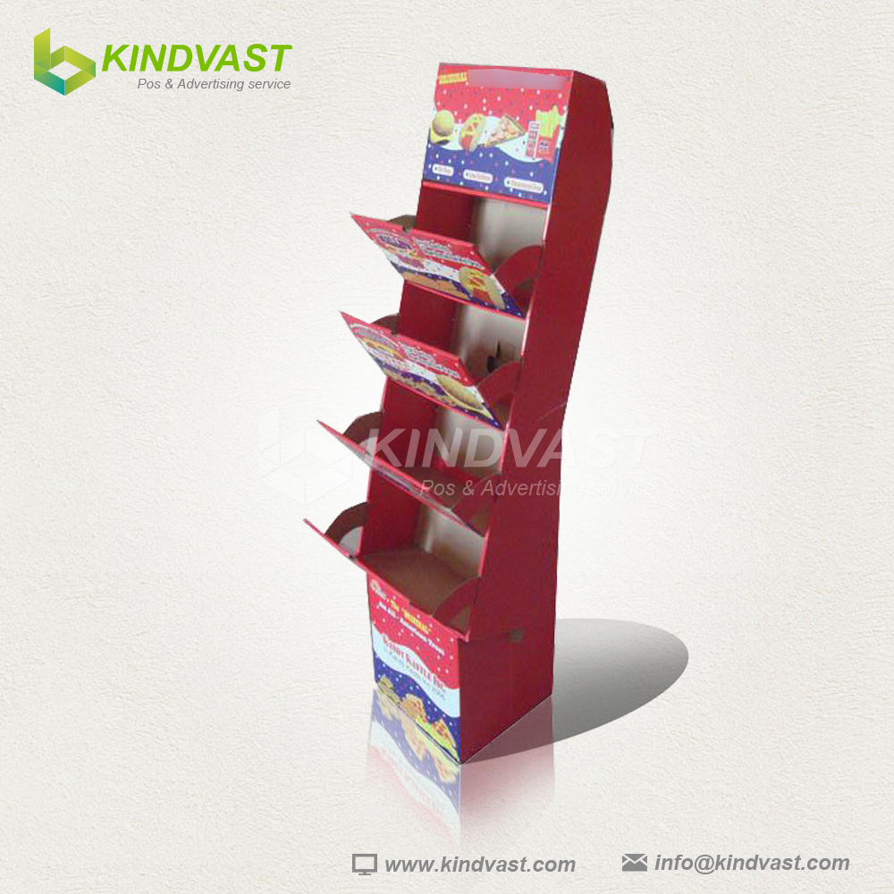 Mobile Phone Cardboard Display Shelf For Walmart - Buy ...