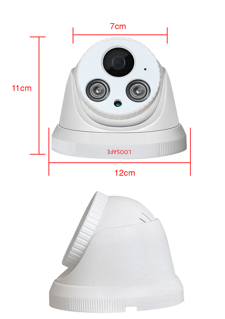 H 265x 5mp Ip Dome Camera Outdoor Poe With Phone Monitoring Cloud Storage  Ip Cctv Security Camera - Buy H 265 5mp Ip Dome Camera,Ip Dome Camera