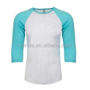 3/4 sleeve raglan designer jersey new latest training running school blank t shirt