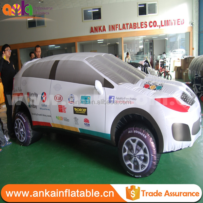 Popular Sale inflatable car toys with most popular
