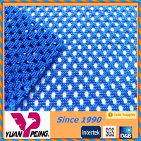 breathable tricot netting polyester mesh fabric