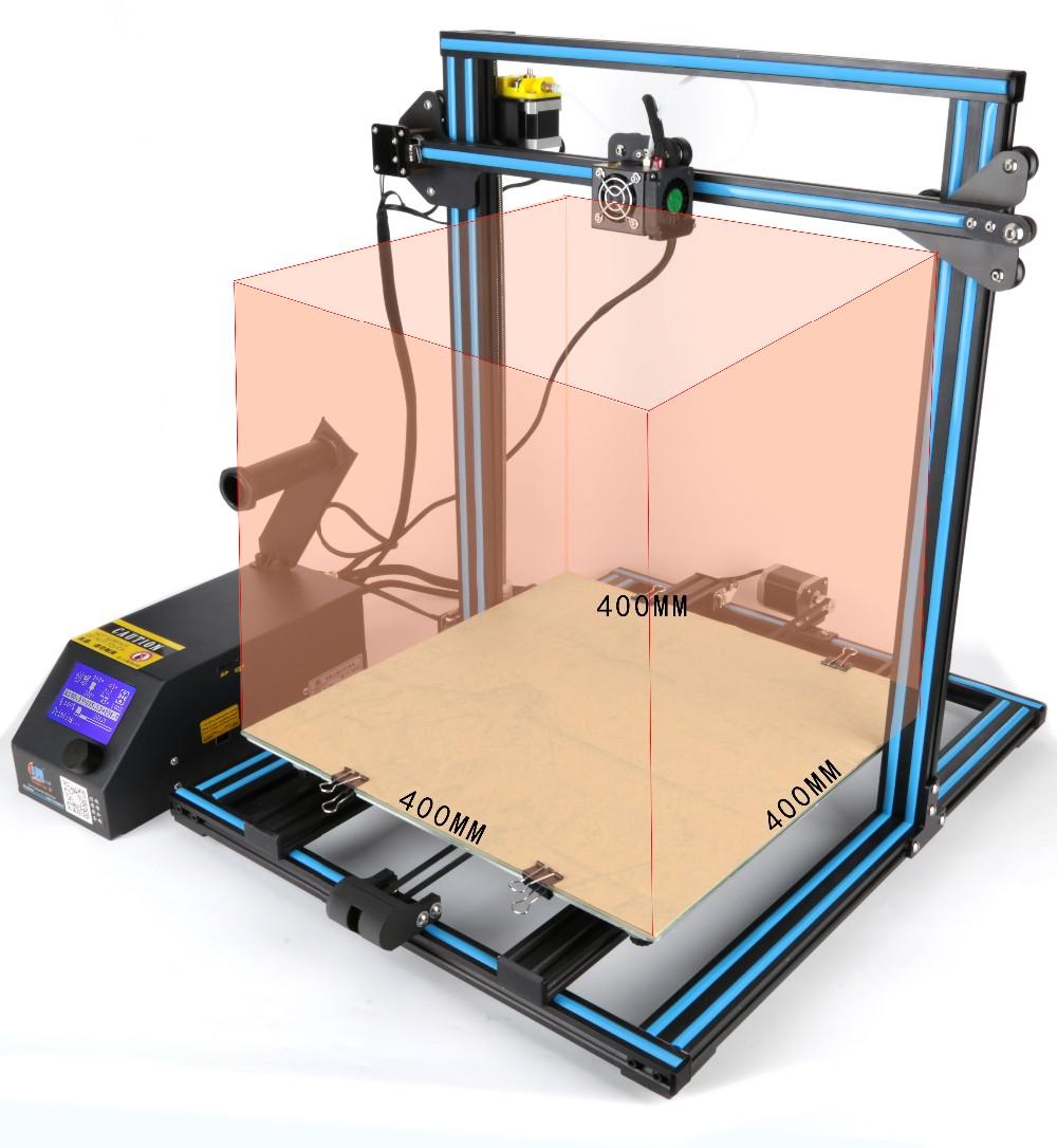 2016 New Design Cr-10-s4 Large 3d Printer Diy Kit China