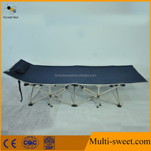 Foldable Army Cot Folding Military Bed Outdoor Camping Bed