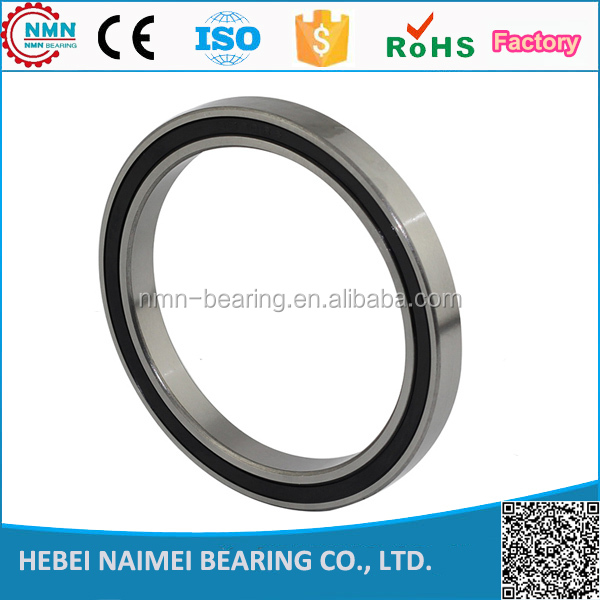 6807-2RS two side rubber seals bearing 6807-rs ball bearings 6807 rs Qty.1