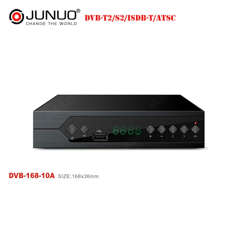 High quality DVB-T2 1080P HD tv Terrestrial receiver digita set top box