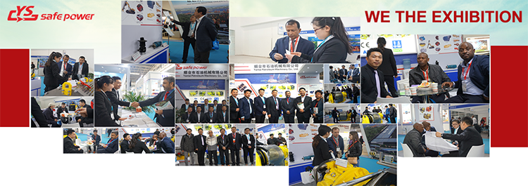 Exhibition of air starter and air hoists exhibition