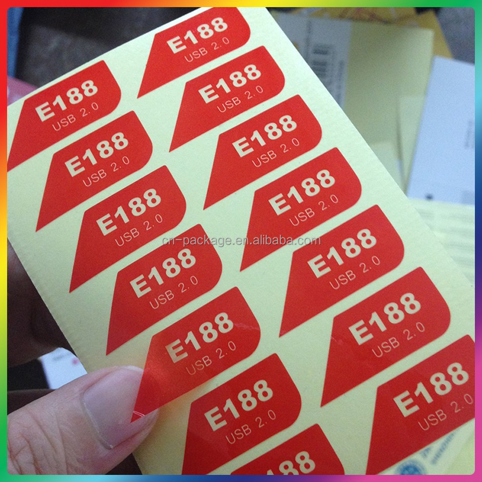 Top ranking and good price plain thermal label stickers,color vinyl sticker paper