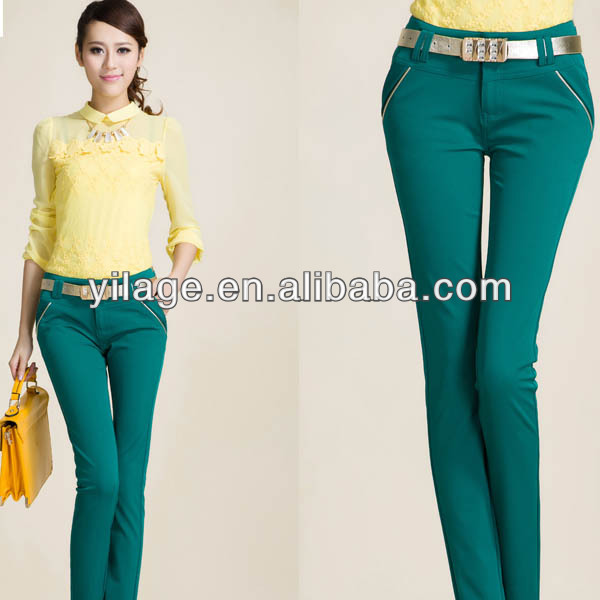 2014 Fashion Pants For Women Formal Pants Suits Korean Style Women Pants L1041