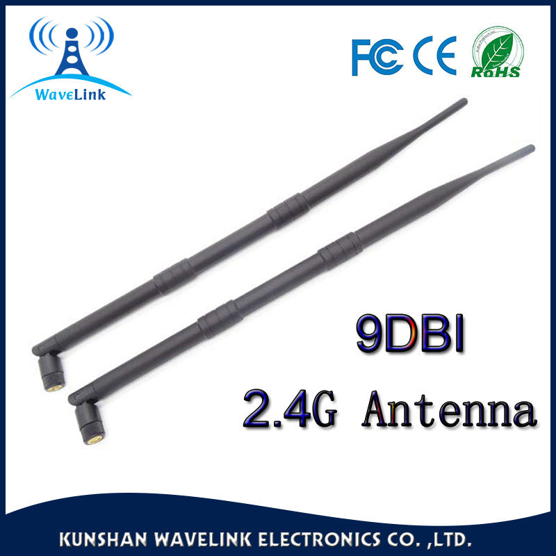 Top Quality Long Rubber Omni Wireless Indoor Antenna 9dbi Indoor ...