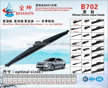 Wiper Blade Sizes >> Latest Products In Market Snow Wiper Blade Hybrid Cars Wiper Blade Size Chart Buy Wiper Blade Size Windshield Wiper Brush Frameless Wiper