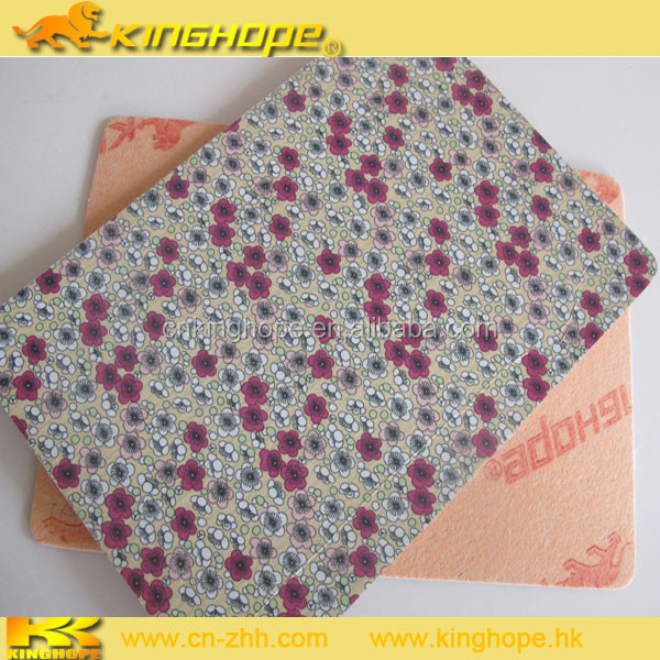 shoes material printed Fabric for making shoes with EVA and insole board
