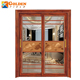 Fiber bathroom doors designs aluminium tempered glass sliding door