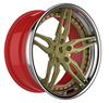 BR Wheels BR325 Step Lip 3 pcs Forged Aftermarket Wheel