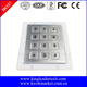 Flush 3X4 matrix metal numeric keypad