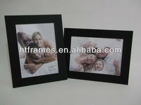 Acid free black recycled paper photo frames bulk 4x6 5x7